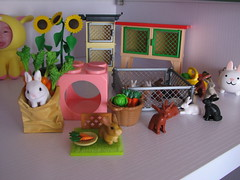 My bunny collection (RosyBunny) Tags: rabbit bunny toy collection