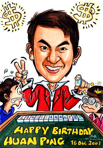 Caricature Mahjong 161207