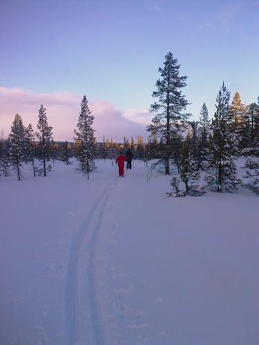 Vinter i Funäsdalen, januari 2008
