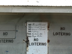 2007 - 12 - 28 - No Playa Haters (Mississippi Snopes) Tags: louise noloitering jukejoint mississippidelta nooneunder21 humphreyscounty noweaponsallowed nofighting nodrugsallowed nobeerbroughtinside noplayahaters