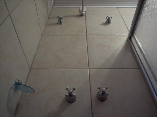 Weird shower