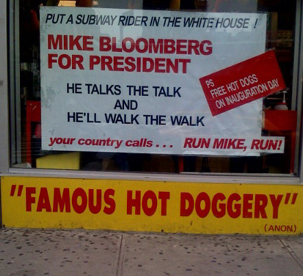 Mike Bloomberg for President