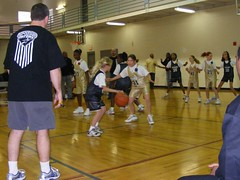 Kirstie's 1st 2008 Upward Basketball Game-10 (It's Dave! Indy's Drum and Vocals Guy!) Tags: basketball 2008 upward kirstie