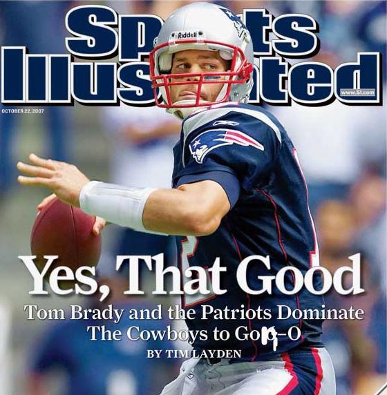 Tom Brady on SI