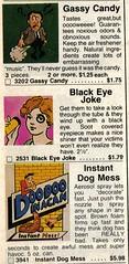 Evil Pranks (Union Pride) Tags: dog eye candy gas fart doodoo johnsonsmith noveltyjohnsonsmithcatalog