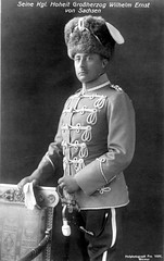 Groherzog Wilhelm Ernst von Sachsen-Weimar, GRand Duke of Saxe Weimar (Miss Mertens) Tags: king princess postcard royal prince queen rey kaiser regina reine royalty monarchy adel oldfashioned roi prinz knig postkarte knigin prinzessin monarchie monarchia kaiserin picturecard