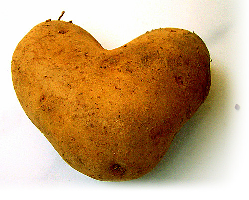 potato on valentine...