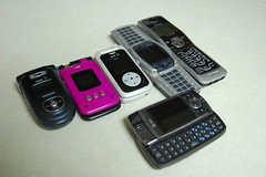Cell Phones Galore and one house phone