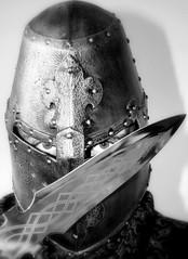 Gothic Soul 2: Confession of the Vampire (Ewciak & Leto) Tags: me dark sadness eyes sad darkness vampire gothic helmet goth dream sword horror knight blade legend canoneos350d myth leto gothicsoul anawesomeshot v401500 v101200 v76100 v501600 v601700 v701800 v201300 castlesdreams v301400 theperfectphotographer