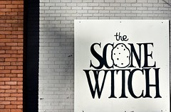 Scone Witch sign