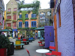 Brightly Painted Neal's Yard