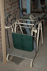 Old Gyno chair (picture_addicted) Tags: d50 germany nikon swimmingpool mannheim 2007 schwimmbad pictureaddicted herschelbad