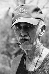 cojimar man (david.lafevor) Tags: fisherman cigar cojimar