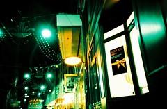 Bel Air At Night (saviorjosh) Tags: green night lomo lca xpro lomography fujifilm fujiprovia100 rdpiii