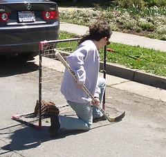 Debbie Goalie (markhalpert) Tags: california hockey elcerrito