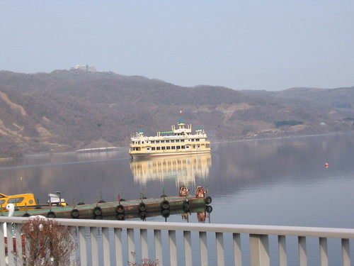 城堡船開走了