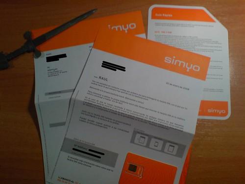 Tarjeta Simyo 3