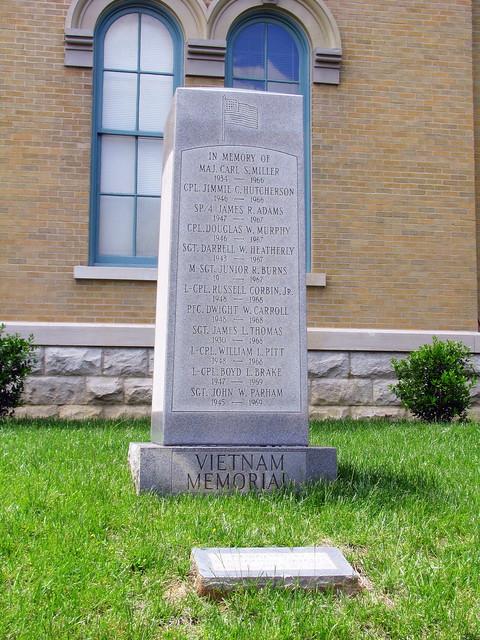 Springfield, TN Vietnam Memorial