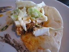 verde taqueria - pulled pork taco