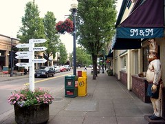 Gresham, OR, where Michael Abbate is chief planner (by: DeEtte Fisher, via Panaramio & Google Earth)