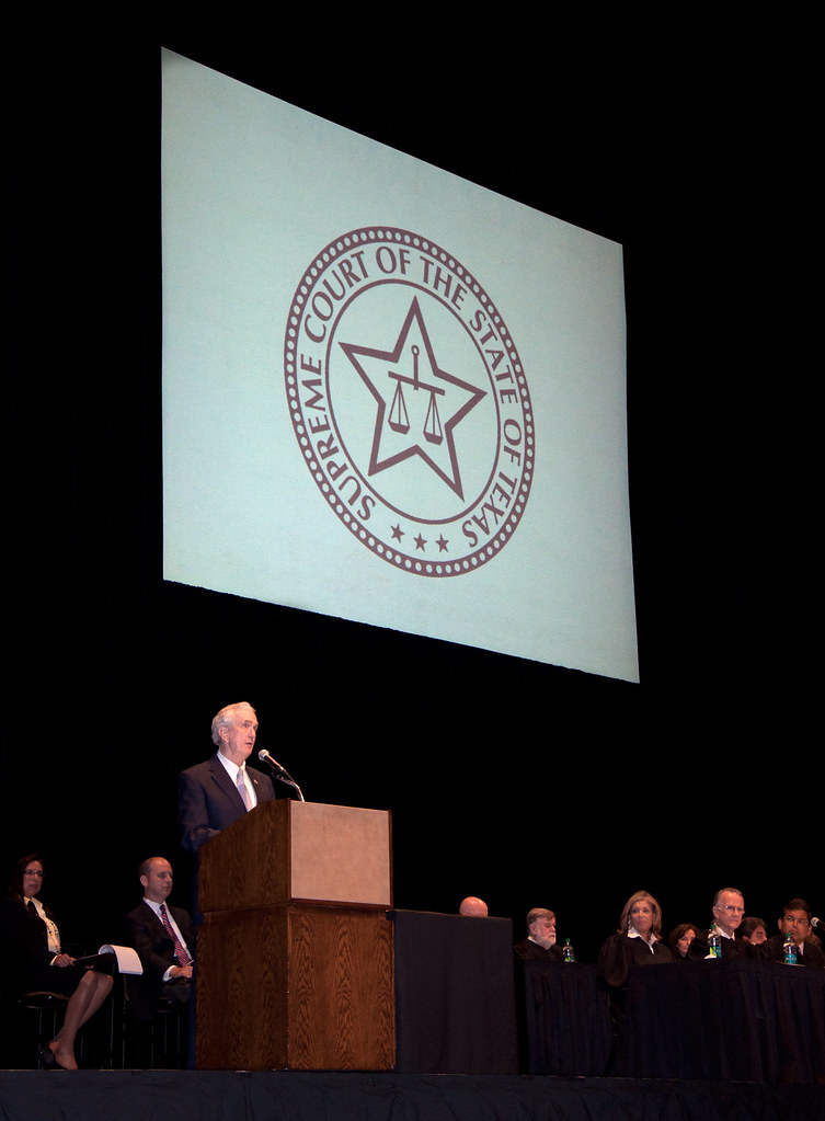 Induction Ceremony for New Members of the State Bar of Texas