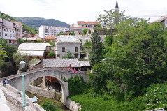 Kriva Cuprija, Mostar (Alan Hilditch) Tags: old bridge mostar bosnia unesco most herzegovina neretva sloping и rade kriva cuprija босна херцеговина bjelušine bitange неретва bridgeradebitangebjelubjelu