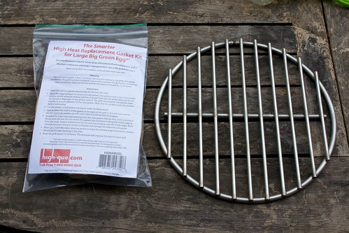 BGE Upgrade Kit; New Gasket & FIre Grate
