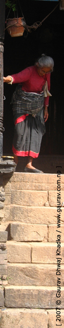Woman of Bhaktapur by Gaurav Dhwaj Khadka