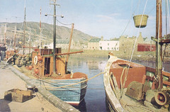 Fishing boats in the Helmsdale harbour (Helmsdale.org) Tags: christmas street river gold scotland fishermen harbour postcard msp highland postcards wilderness sutherland park helmsdale oldharbour dunrobin loth village portgower statue la games david mirage kinbrace fishing gold helmsdale salmon gartymore emigrants alex highland panning salmond couper mason helmsdaleharbour helmsdaleorg