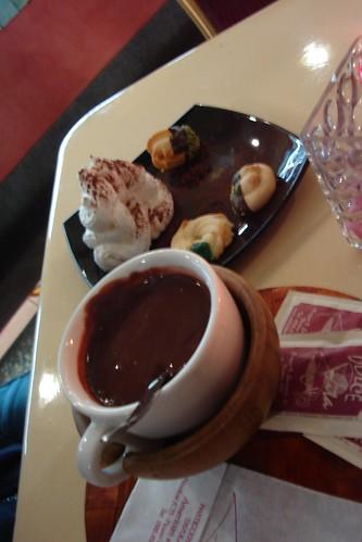 Hot Chocolate in Nicolosi
