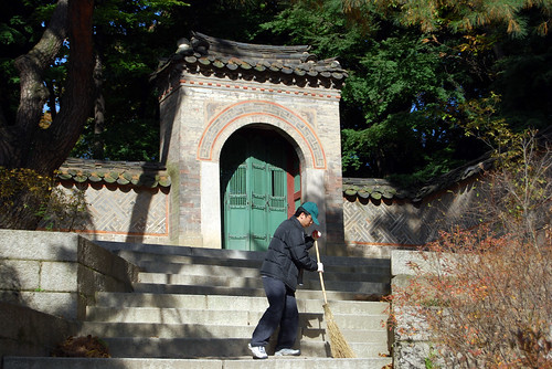 Cheonjangmun Gate, Garden behind Daejojeon Hall, Changdeokgung Palace
