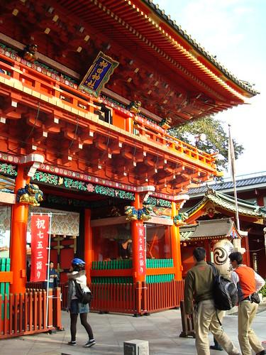 Kanda Myojin, a Shinto shrine in Tokyo