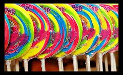 lollipops at disneyland candy palace (Miro-Foto) Tags: california county food orange catchycolors rainbow candy sweet disneyland disney anaheim lollipop lollipops colourartaward