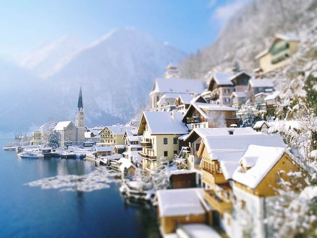 Hallstatt (tilt shift)