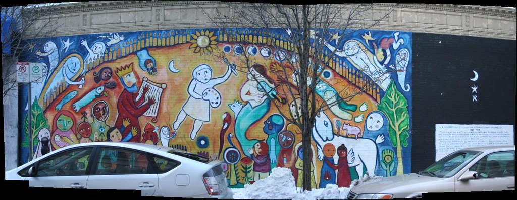 central square mural