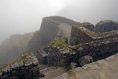 Inca Ruins (Rafski) Tags: mist peru inca cuzco cusco machupicchu incatrail phuyupatamarca phuyupatamarka lpruins