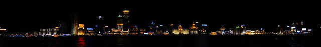 Panorama of the Bund
