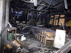 Großbrand Niemöller-Schule 27.12.07