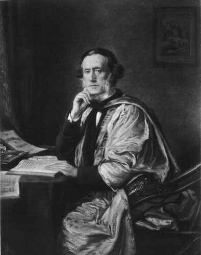 William Sterndale Bennett, by Millais painted 1873