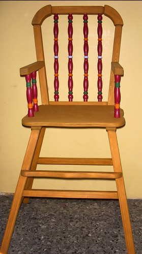 old high chair