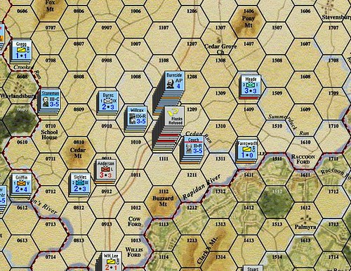 Burnside Takes Command - Battle of Mitchell's Station 4/7