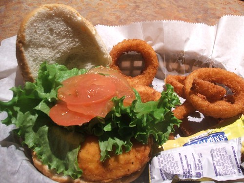 Chicken filet sandwich