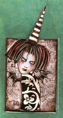 morticia (crazyfish_666) Tags: atc gothic goth spiderweb batwings zetti