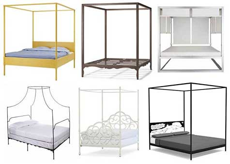 Canopy Beds - Beds | Bedroom Furniture Warehouse