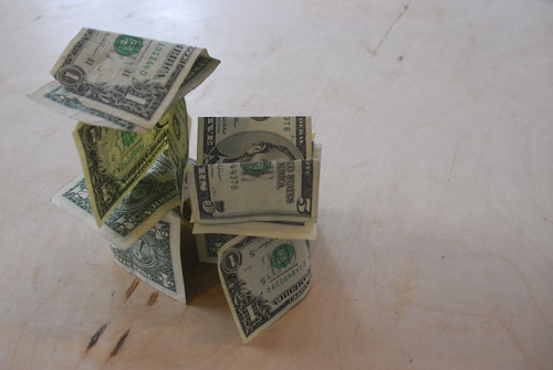 Piles of Money by Eric__I_E.