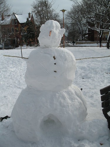 Snowman with Legs?