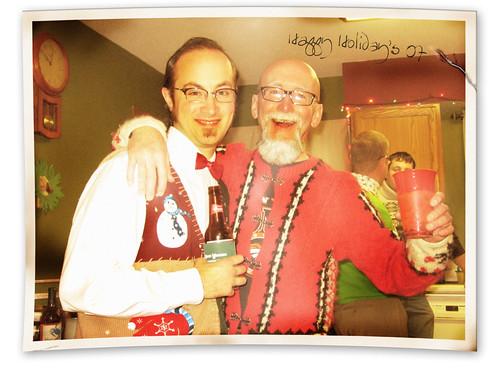 nate&dad by midnitespezcial.