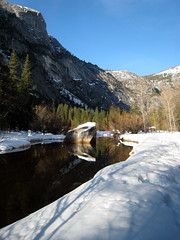 Mirror Lake Hike, Winter 2008