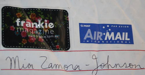 Mail from Australia...