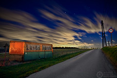 (Andreas Reinhold) Tags: road longexposure lightpainting 30 night rural geotagged country led container torch trailer bergischesland mettmann andreasreinhold geo:lat=51247236 geo:lon=6950226